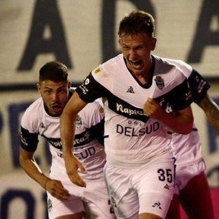 Gol de Gimnasia: Bruno Palazzo 2-1