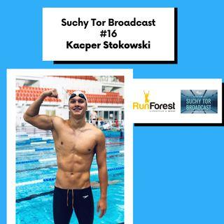 Kacper Stokowski - wschodząca gwiazda polskiego pływania w Suchy Tor Broadcast #16