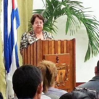 Presidenta del Tribunal Provincial en Ciego de Ávila