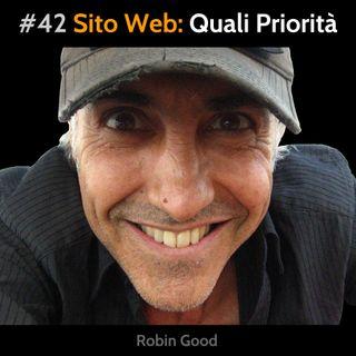#42 Sito Web: Quali Priorità