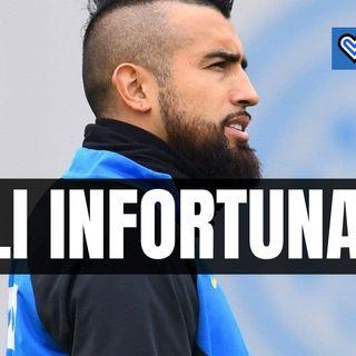 Verso Spezia-Inter, ancora out Vidal e Kolarov: le loro condizioni