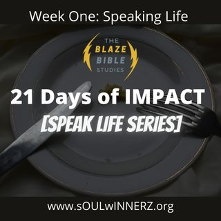 21 Days of IMPACT [Speak Life Series] -DJ SAMROCK