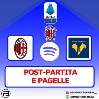 MILAN-HELLAS VERONA 2-2 | PAGELLE e POST-PARTITA