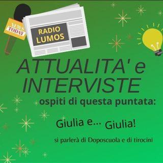 Intervista alle Giulie - doposcuola e tirocinio