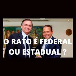Bolsonaro e Dória - O rato é federal ou estadual?
