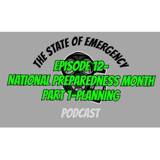 National Preparedness Month-Planning