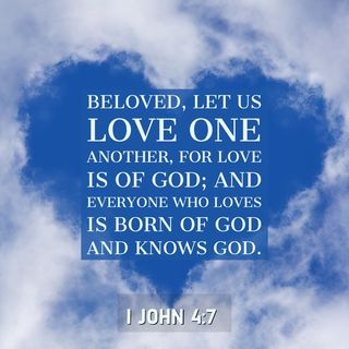 When You Love God Most, You Will Love Others Best as God Loves You.