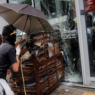 Enfrentamiento en Hong Kong