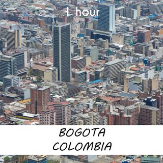 Bogota, Colombia | 1 hour RIVER Sound Podcast | White Noise | ASMR sounds for deep Sleep | Relax | Meditation | Colicky