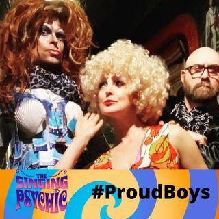 #ProudBoys LGBT reclaiming #Pride DJ Singing Psychic Radio Session 7