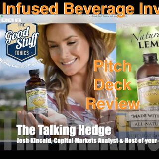 Infused Beverage Investment Pitch Deck