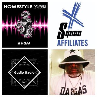 HomeStyle Music Group 4th of July MixAThon After Party with DGratestFromSouthCentral #XSquad