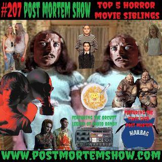 e207 - Radio Randy's Dick Swingin' Castlefreaks (Top 5 Horror Movie Siblings)