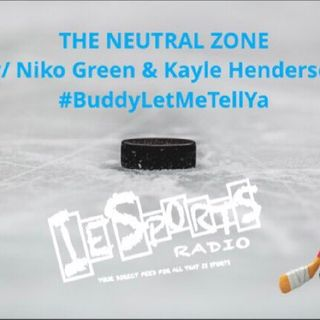 The Neutral Zone- Stanley Cup Finals tonight!!