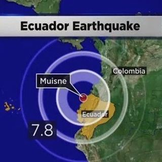 El regreso de America Latina - Ecuador, 40 secondi di terrore