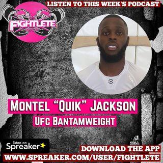 "UFC230 Montel ""Quik"" Jackson Fightlete Report Interview"