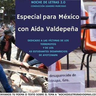 Noche de letras 2.0 #77, Aida Valdepeña (ESPECIAL MEXICO)