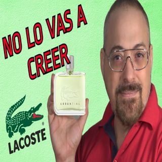 Perfume Lacoste Essential mi opinion