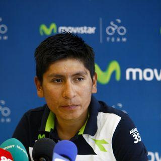 Nairo Quintana en Rueda de prensa