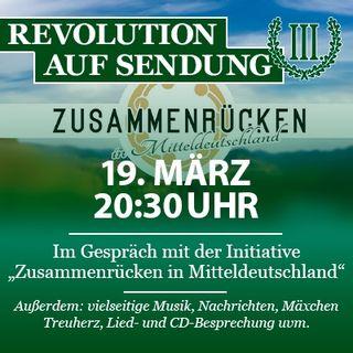 """Revolution auf Sendung #029 - Im Gespräch mit der Initiative """"Zusammenrücken in Mitteldeutschland"""""""