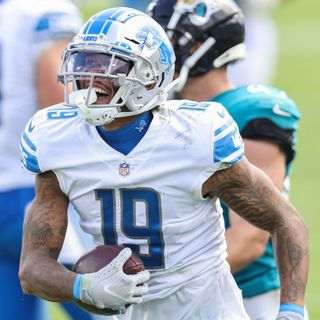 "Lions Run Over Jaguars, Atlanta vs. Detroit Fans, Kenny Golladay Instagram Drama, ""Around the NFL,"" & Good News for Big Drew's Wedding"