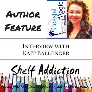 Ep 38: Author Interview with Kait Ballenger | #CMCon17 Feature