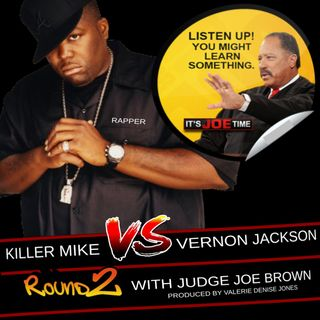 KILLER MIKE v VERNON JACKSON + JUDGE JOE BROWN, Donkeys and Elephants