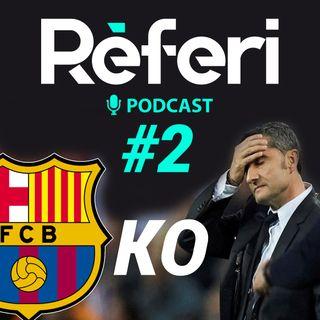 Episodio #2: Análisis del Barcelona HORRIBLE frente al Slavia de Praga - BARSA KO