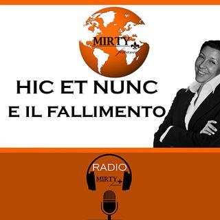 Hic et Nunc e il fallimento