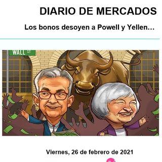 DIARIO DE MERCADOS Viernes 26 Febrero