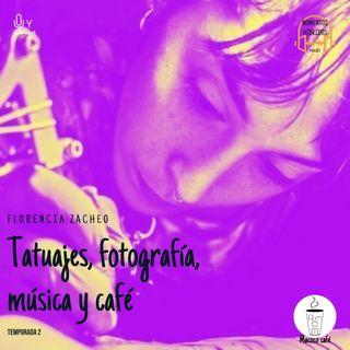2x1. Florencia Zacheo: de tatuajes, fotografía y café (en Macoco)
