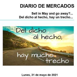 DIARIO DE MERCADOS Lunes 31 Mayo