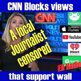 Morning moment CNN blocks YES view on wall Jan 31 2019