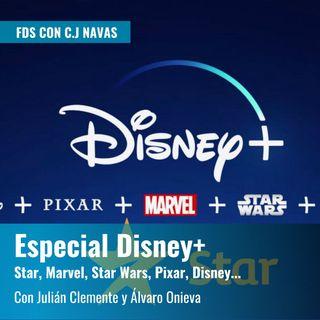 Especial Disney+: Marvel, Star Wars, Disney, Pixar... y Star, con Julián Clemente y Álvaro Onieva  | FDS con CJ Navas