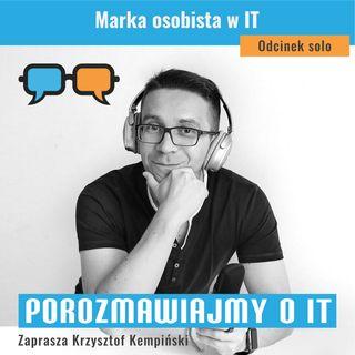 Marka osobista w IT - POIT 117