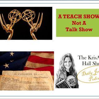 Daily Journal: Emmy Leftist Hypocrisy & Trump's Proper Presidential Power