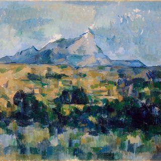 La montagna Saint Victoire Paul Cézanne