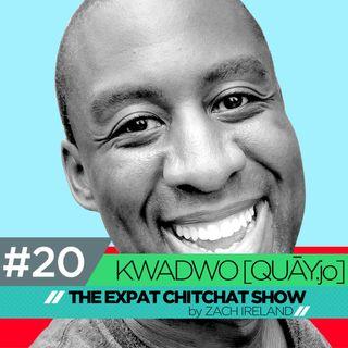 Kwadwo [QUĀY.jo] Sampany-Kessie: Tacoma to Tianjin