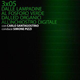 AI-3x05: Dai fosfori verdi ai led organici