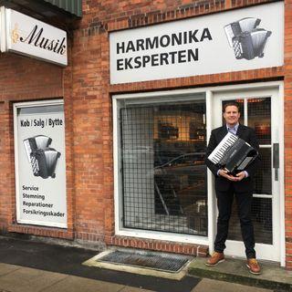 Episode 14 - Clavs Sørensen & Harmonika Eksperten del 1