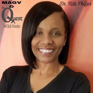 MAGV & QuestNation. Dr. Rita Phifer. 03-13-2020