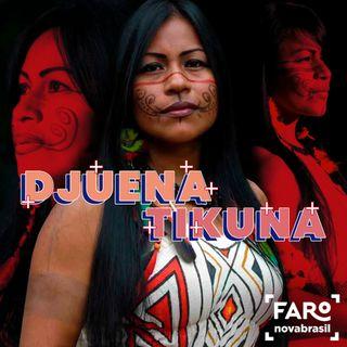 Djuena Tikuna - Primeiro jornalista Tikuna formada no Amazonas, a origem musical e a dificuldade dos indígenas em conseguir apoio