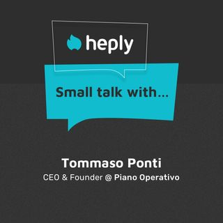 Small Talk With...Tommaso Ponti