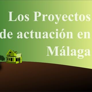 Proyecto de actuación en SNU en Málaga