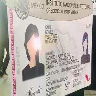 Credenciales del 2019 y 2020 servirán para votar: INE