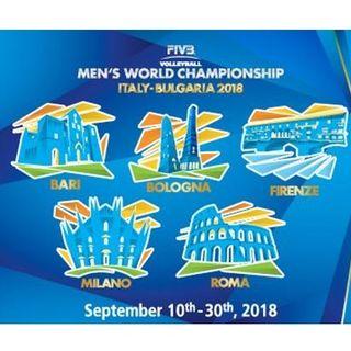 #fi Campionato Mondiale Maschile: Italia VS Republica Dominicana