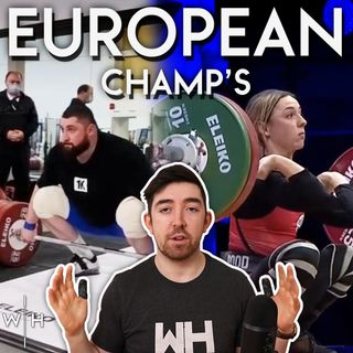 European Champs Update | Heaviest Training Hall Total Ever | WL News