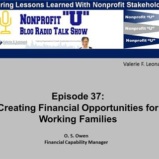 Creating Financial Opportunities for Working Families