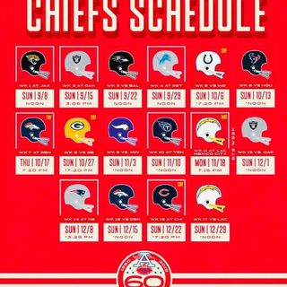 The Richard Smith Show: Chiefs Schedule Released, Draft Update