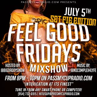 #FeelGoodFridays18 By: @BigDaddySnow